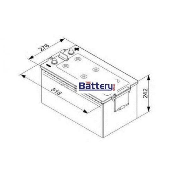 Μπαταρία  EXIDE  EF2353 , 235Ah  ,1300A