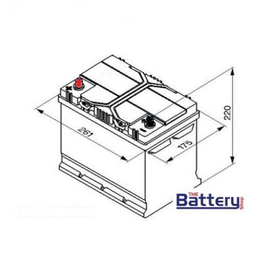 Μπαταρία EXIDE EM1000 AGM , 50Ah , 800cca  EN (maxx900)