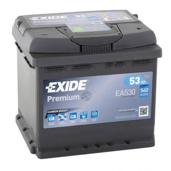 Μπαταρία EXIDE EA530, 53Ah 540cca