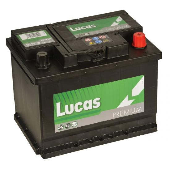 Μπαταρία αυτοκινήτου LUCAS LP027, 60Ah ,540a