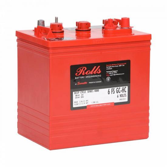 Μπαταρία  βαθειάς εκφόρτισης ROLLS  6 FS GC-HC ,6 VOLT 235Ah