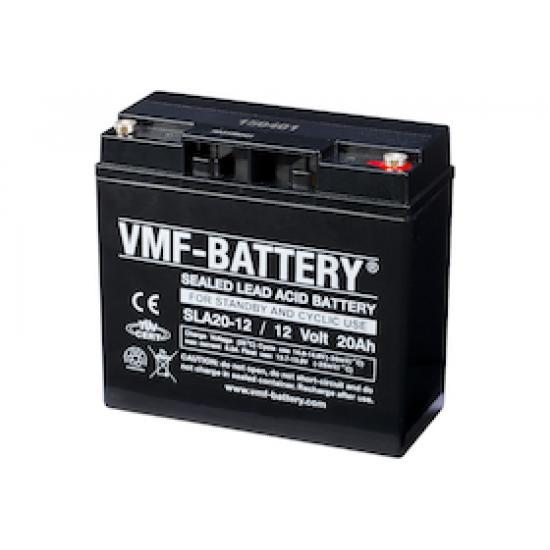 Επαναφορτιζόμενη μπαταρία VMF , 20Ah 12volt