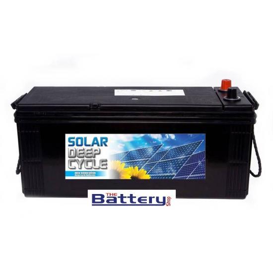 Μπαταρία MITSUBA  D150+ φωτοβολταϊκού - βαθειάς εκφόρτισης , SOLAR ,  150Ah.