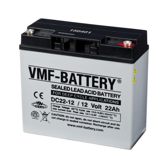Μπαταρία VMF deep cycle  DC22-12 ,  12V  22Ah