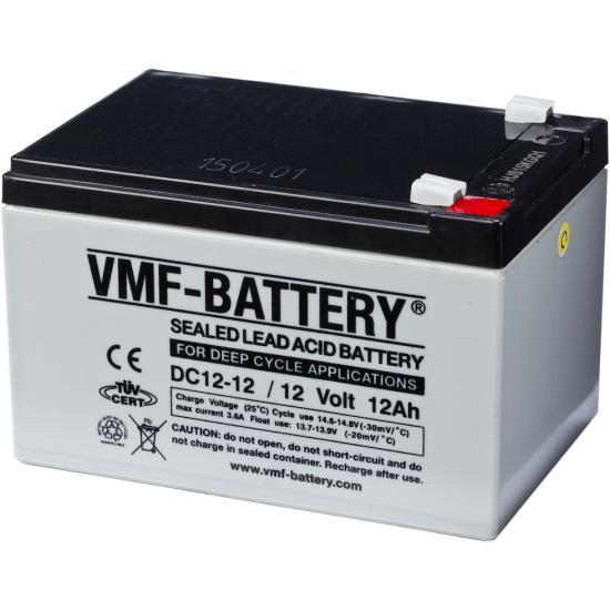 Επαναφορτιζόμενη μπαταρία  VMF DC12-12 ,Deep Cycle 12V 12Ah