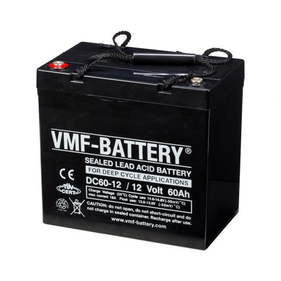 Μπαταρία βαθειάς εκφόρτισης VMF, 60Ah  12V