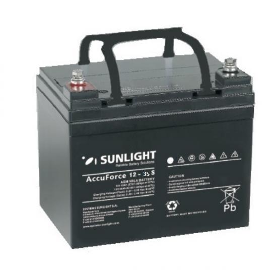 Μπαταρία  SUNLIGHT AccuForce 35 S,  35Ah