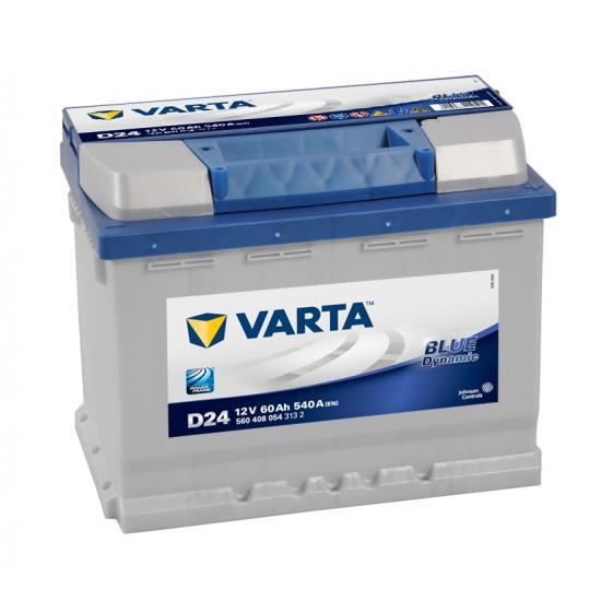 Μπαταρία αυτοκινήτου VARTA  D24 , 60AH, 540cca EN